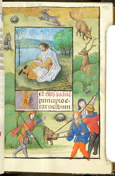 Book of Hours, MS S.7 fol. 43r - Images from Medieval and Renaissance Manuscripts - The Morgan Library & Museum