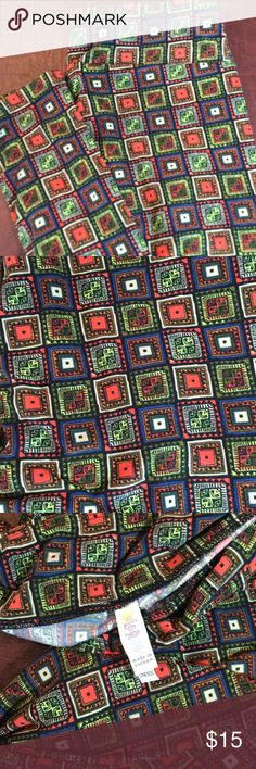 Awesome Lularoe Leggings One Size Multi Colored Lularoe Leggings One Size. Made in Vietnam. Please See My Other Listings for You to Bundle Items and Save on Shipping. LuLaRoe Pants Leggings