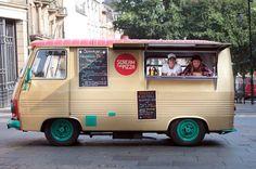 van van market - Buscar con Google Pizza Vans, Pizza Truck, Saffron Flower, Coffee Trailer, Street Coffee, Food Vans, Pizza And Beer, Pizza Shirt, Coffee Truck