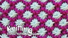 Beautiful Knitting Stitches - YouTube
