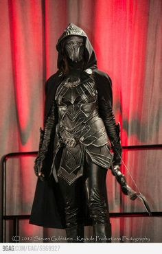 Kindove down to make this ny Halloween costume. I love my nightingale armor in game