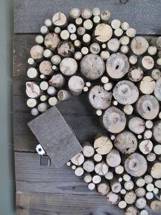 Pallet Wood and Sticks Valentine's Heart