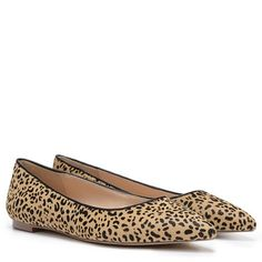 Dr. Scholl's Orig Collection Tenacious Flat Leopard Pony Hair