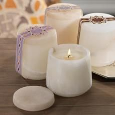 shared Alabaster Wax Filled Candle Jar, check it out on www.primewinn.com