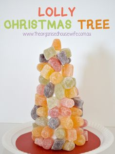 Lolly Christmas Tree