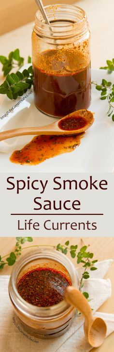 Spicy Smoke Sauce will jazz up any meal! - a little spicy, a little smoky, try it on fish, chicken, veggies, tofu, beef, anything you want to have lots of yummy flavor!