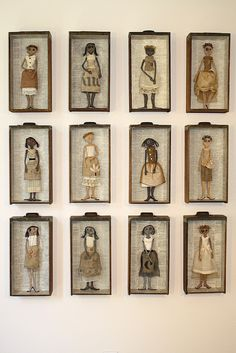 Twelve Dolls by Nola Hart