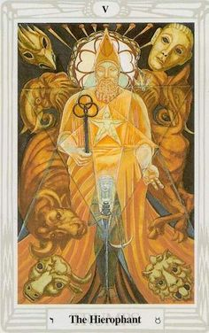 tarot de Thoth painted by Lady Frieda Harris according to instructions from Aleister Crowley