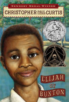 Elijah of Buxton by Christopher Paul Curtis was the first audio book I ever listened to.  It kept my attention and told a great story about a settlement in Canada that housed former slaves.  CPC knows how to tell a great story!