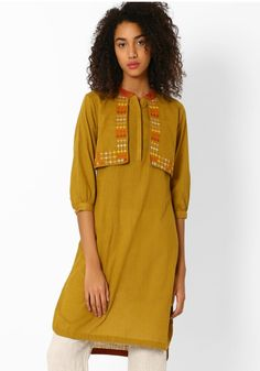 Kurti with shrug