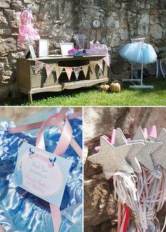 Pretty, Pink & Royal Cinderella Birthday Party