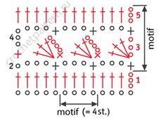 Free scheme openwork crochet pattern 26
