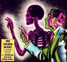 Fantastic Novels March 1949. Cover illustration by Virgil Finlay