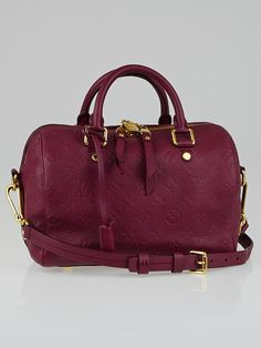 Authentic Used Louis Vuitton bags for sale Used Louis Vuitton, Louis Vuitton Speedy Bag, Burgundy Fashion, Pints, My Boutique, Bag Sale, Hand Bags, Dark Red, Jewelry Collection