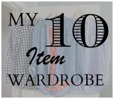 I'm defining my style using the 10 Item Wardrobe approach.  Click through to see how I categorized the clothes in my closet and created outfits I had never worn before using just clothes I already owned.