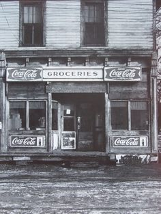 vintage grocery stores | Old Grocery Store With Coca Cola Sign Photo by relicsandcollectables ...