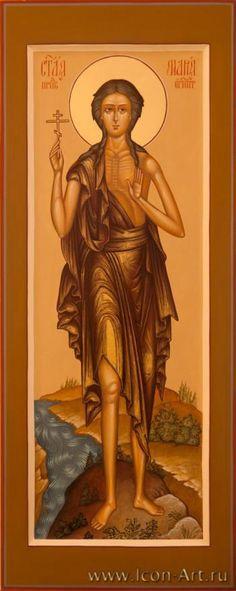 Saint Mary of Egypt St Mary Of Egypt, Russian Icons, St Lawrence, Orthodox Icons, Christian Art, Byzantine, Virgin Mary, Catholic, Saints