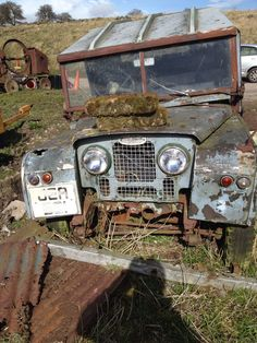 Very sorry Series 1 Land Rover