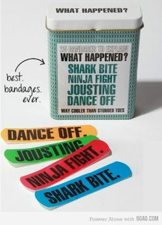 Best. Band aids. Ever.