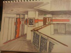 DA hallway #markerpens