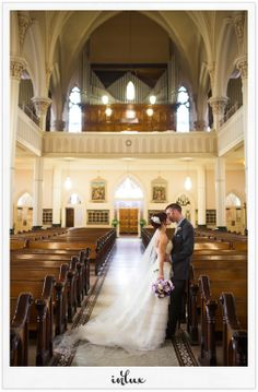 Missy and Brian's Canton Wedding at St. Peter's and the McKinley Grand... Inlux Photo