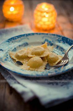 #provedifesta 2 : il primo. Ravioli cacio e pepe...  - Al cibo commestibile #cibo #food #foodporn #foodie #italianfood