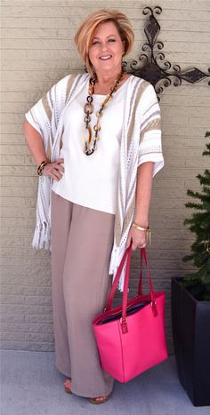 50 Is Not Old | Linen Pants Are Perfect For Spring | Fashion over 40 for the everyday woman