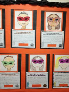 Who is hiding there you ask? Who is the classmate behind that mask? Fun riddle and craft for students to hang on the bulletin board!