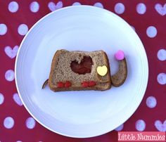 Valentine's Day Kids Lunch: I Love You a Ton!