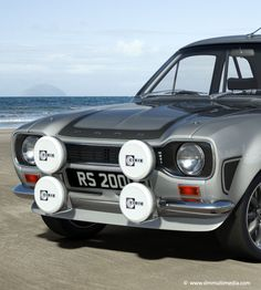 model of the classic Ford Escort, rendered with many different stripe and body colours. A slection of alloy wheels from classic RS Alloys to large racing BBS rims. Escort Mk1, Ford Escort, Ford Rs, Car Ford, Retro Cars, Vintage Cars, Car Camper, Ford Lincoln Mercury, British Sports Cars