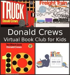 July Virtual Book Club: Donald Crews: Freight Train, Ten Black Dots and Truck - 3Dinosaurs.com