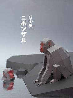 japanese macaques on Behance
