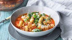 Enkel minestrone-suppe