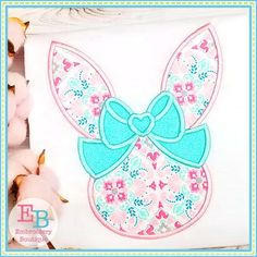 Embroidery Designs, Embroidery Boutique, Applique Designs, Embroidery Applique, Machine Embroidery, Vintage Embroidery, Applique Monogram, Hoppy Easter, Satin Stitch
