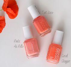 Essie Serial Shopper, Tart Deco & Haute As Hello