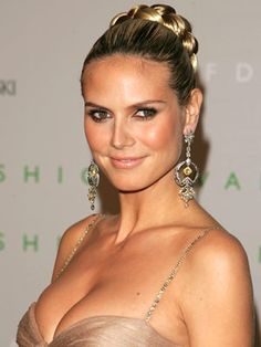 hair styles with a braid 932 best heidi klum images on in 2018 8738