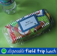 Mamabelly's Lunches With Love: Disposable Field Trip Lunches {with Tutorial}