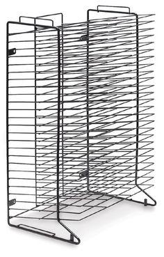 Drying rack for art work for kindergarten
