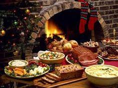 Christmas dinner on Christmas eve