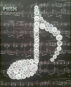 Musical Note by Cute As A Button