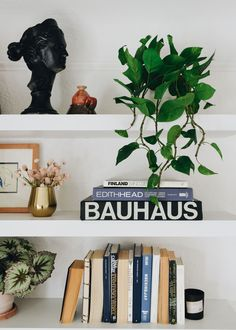 The key to a beautiful shelfie? A natural finishing touch with a pop of freshness. Include a couple faux plants for a maintenance-free look. Shop this look by @francois_et_moi at Afloral.com. Silk Plants, Real Plants, Shelfie, Hanging Plants, Silk Flowers, House Plants, Greenery, Couple, Key
