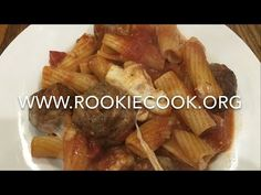 Melting Meatball Macaroni - Rookie Cook