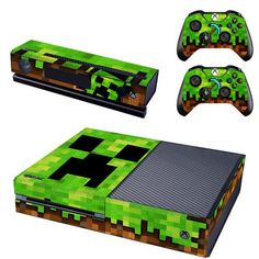 Minecraft console xbox one skin sticker from Decal Design. Shop more products from Decal Design on Wanelo. Minecraft Bedroom Decor, Minecraft Room, Minecraft Party, Minecraft Skins, Consoles, Video Game Xbox, Console Xbox One, Cosplay League Of Legends, Minecraft Pictures