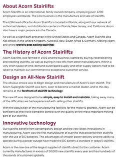 About Acorn Stairlifts & Recent Recalls