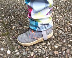 Tutorial: Matschhose aus Softshell