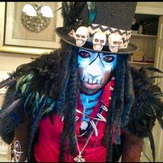 """Papa Legba: Coven   Community Post: 12 People Who Killed It With """"American Horror Story"""" Halloween Costumes"""