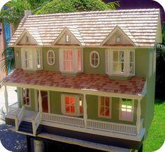 Century House Dollhouse, Not A Kit