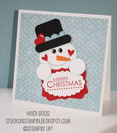 Stuck on Stampin': sharing a little bit of Christmas with you...