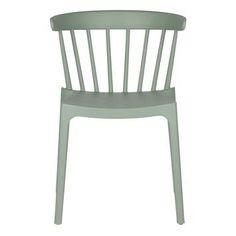 WOOOD kunststof eetkamer-/ terrasstoel Daan, jadegroen kopen? Verfraai je huis & tuin met Tuinstoelen van KARWEI