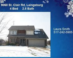 Laingsburg Michigan Home For Sale at 9060 S St Clair Road Listed by RE/MAX Dewitt Realtor Laura Smith. Call or Text Me 517-242-5905 #lansing#puremichigan #igersmichigan #michigan#dewittmichigan #dewittmi#okemos#greaterlansing#lansingmichigan#lansingmi #grandledge#eastlansing#igerslansing#lovelansing #michiganders #Michiganstateuniversity#michigrammers #michiganstate #charlottemi #jacksonmi #igersmidwest #homesforsale #realtor #realestateagent #realty #realestate #remaxdewitt #hiring